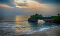 Tanah Lot temple Bali, Indonesia Royalty Free Stock Photo