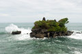 Tanah lot temple bali indonesia in island Stock Image