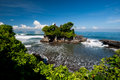 Tanah Lot temple, Bali island, Indonesia Royalty Free Stock Photo