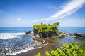 The Tanah Lot Temple. Bali Island. Indonesia. Royalty Free Stock Photo