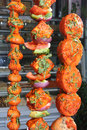 Tandoori vegetables Royalty Free Stock Images