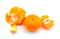 Tangerine close up of delicious Stock Photography