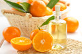Tangerine essential oil Royalty Free Stock Photo