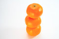 Tangerine a fruits with white background Royalty Free Stock Image