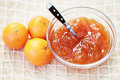 Tangerine jam Stock Photography