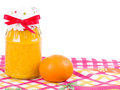 Tangerine and Orange jam Stock Photos