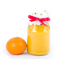 Tangerine and Orange jam Royalty Free Stock Image