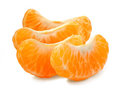 Tangerine segment Royalty Free Stock Photos