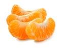 Tangerine segment Royalty Free Stock Photo