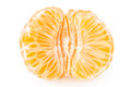 Tangerine with segments Royalty Free Stock Image