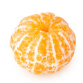 Tangerine with segments Royalty Free Stock Photos