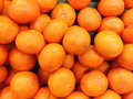 Tangerines exposed in the market Stock Photo