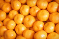 Tangerines fruits at a market Royalty Free Stock Photo