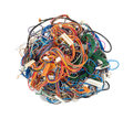 Tangle of wires Stock Image