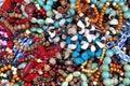 Tangled bracelets background Royalty Free Stock Photo