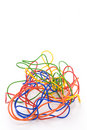 Tangled Coloured Wires Royalty Free Stock Photography