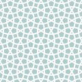 Tangled lattice pattern traditional arabic seamless vector background Royalty Free Stock Images