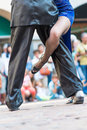 Tango in the street Royalty Free Stock Photo