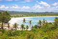 Tanjung Aan beach, Lombok Royalty Free Stock Images