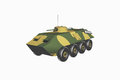 Tank armored troop-carrier Royalty Free Stock Photography
