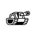 Tank logo illustration