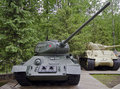 Tank T-34 (1) Royalty Free Stock Photography