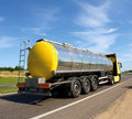 Tanker truck Royalty Free Stock Photography