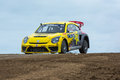 Tanner Foust rally driver Royalty Free Stock Photo