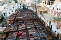 Tanneries Of Fes Royalty Free Stock Images