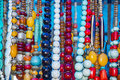 Tantra beaded garlands on sale Stock Photos