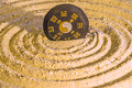 Tao symbol in zen circles Royalty Free Stock Image