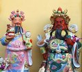 Taoist statues Royalty Free Stock Photos