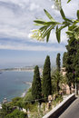 Taormina italy Stock Photo