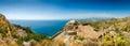 Taormina panorama Royalty Free Stock Photo