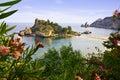 Taormina sea Royalty Free Stock Photo