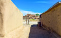Taos new mexico the native pueblo Stock Image