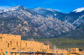 Taos New Mexico Sangre de cristo Mountains Ancient History Royalty Free Stock Photo