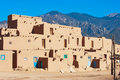 Taos Pueblo Royalty Free Stock Photo