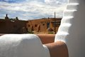 Taos pueblo church in new mexico Stock Image