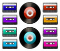Tap cassette Royalty Free Stock Photo