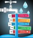 Tap icon. Business Infographics.