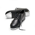 Tap shoes on a white background with clipping path Stock Image