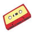 Tape album on a white background Stock Photography