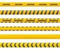 Tape caution