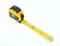 Tape measure isolated on white background Royalty Free Stock Photo