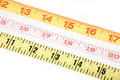 Tape Measures Royalty Free Stock Image