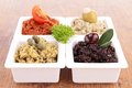 Tapenade close up on fresh Royalty Free Stock Images