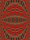 Tapestry patterns Royalty Free Stock Photo