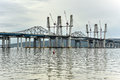 Tappan Zee Bridge - New York Royalty Free Stock Photo