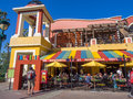 Taqueria in Downtown Disney Royalty Free Stock Photo